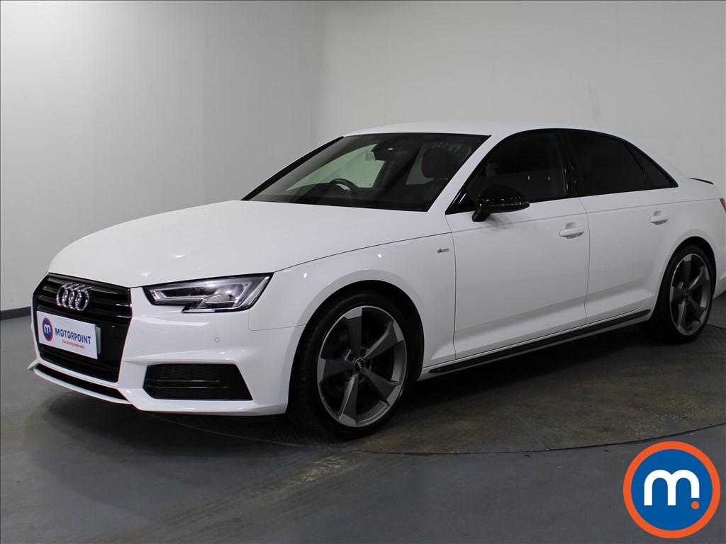 Audi A4 Black Edition - Stock Number 1081548 Passenger side front corner