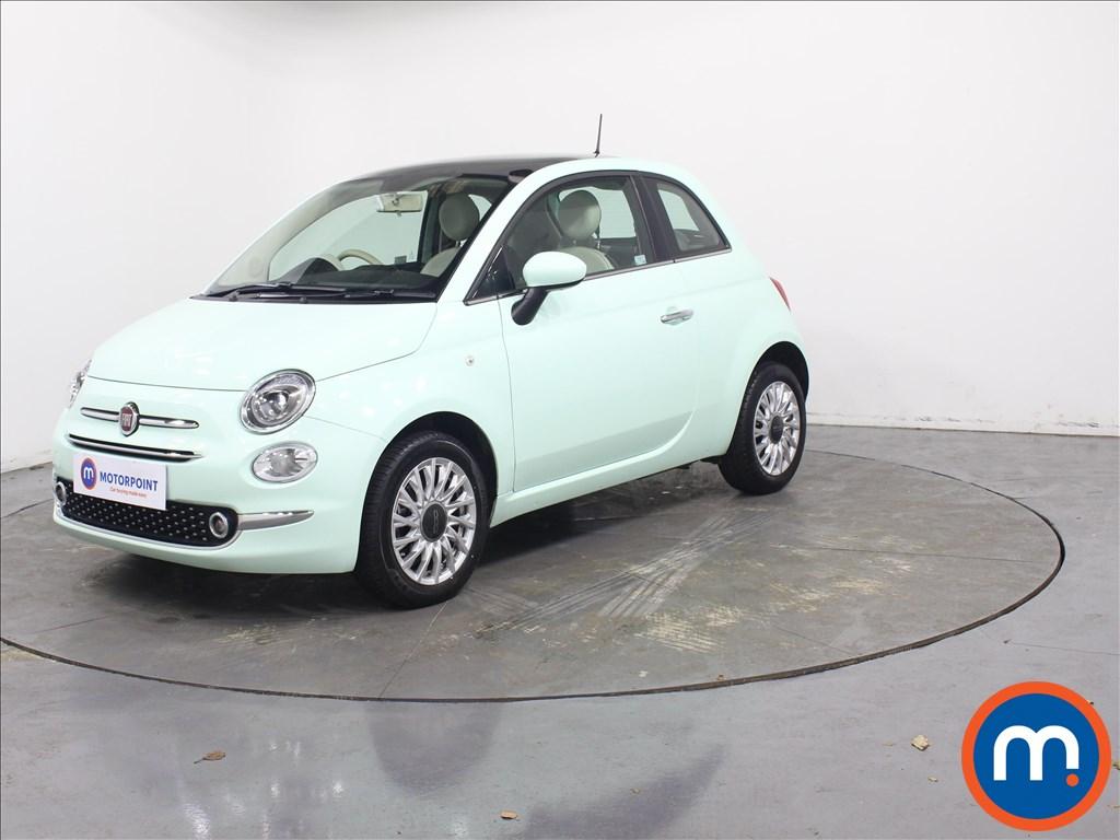 Fiat 500 Lounge - Stock Number 1082948 Passenger side front corner