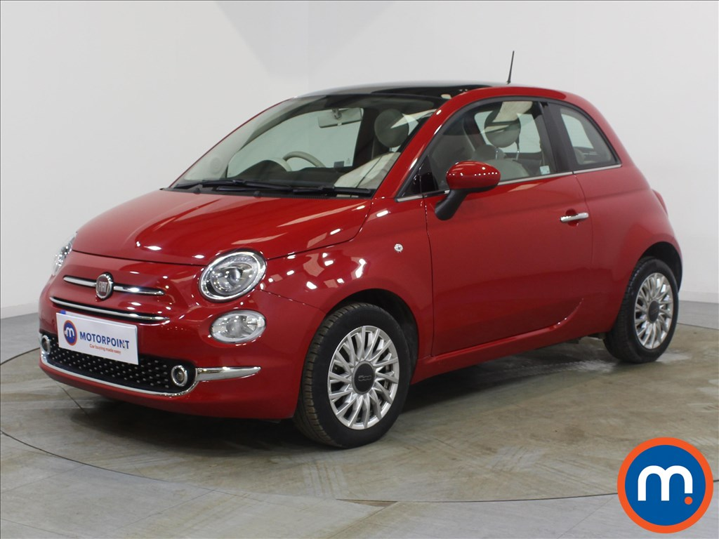 Fiat 500 Lounge - Stock Number 1082982 Passenger side front corner
