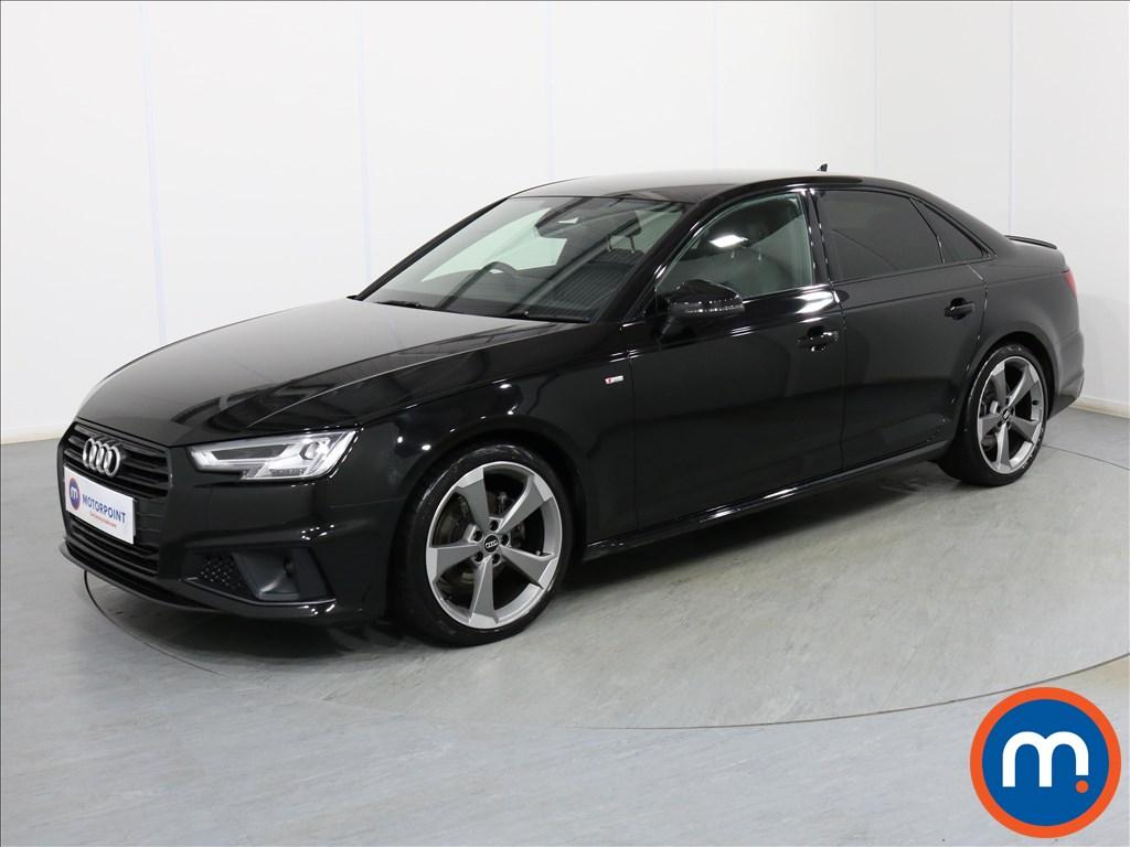 Audi A4 Black Edition - Stock Number 1082321 Passenger side front corner