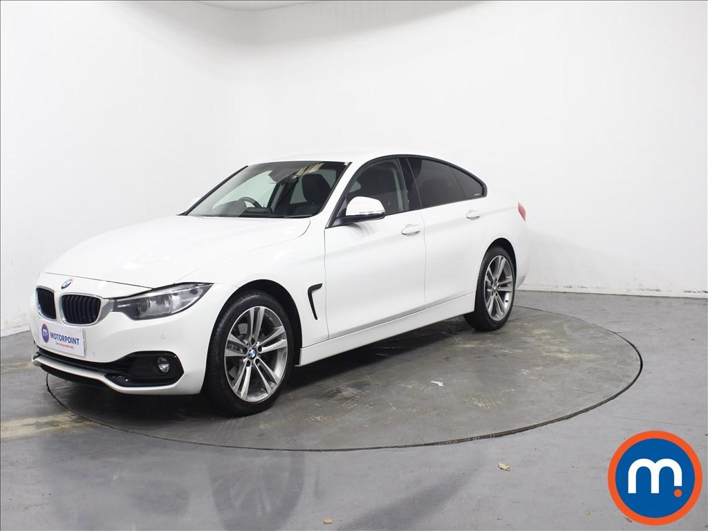 BMW 4 Series Sport - Stock Number 1084077 Passenger side front corner