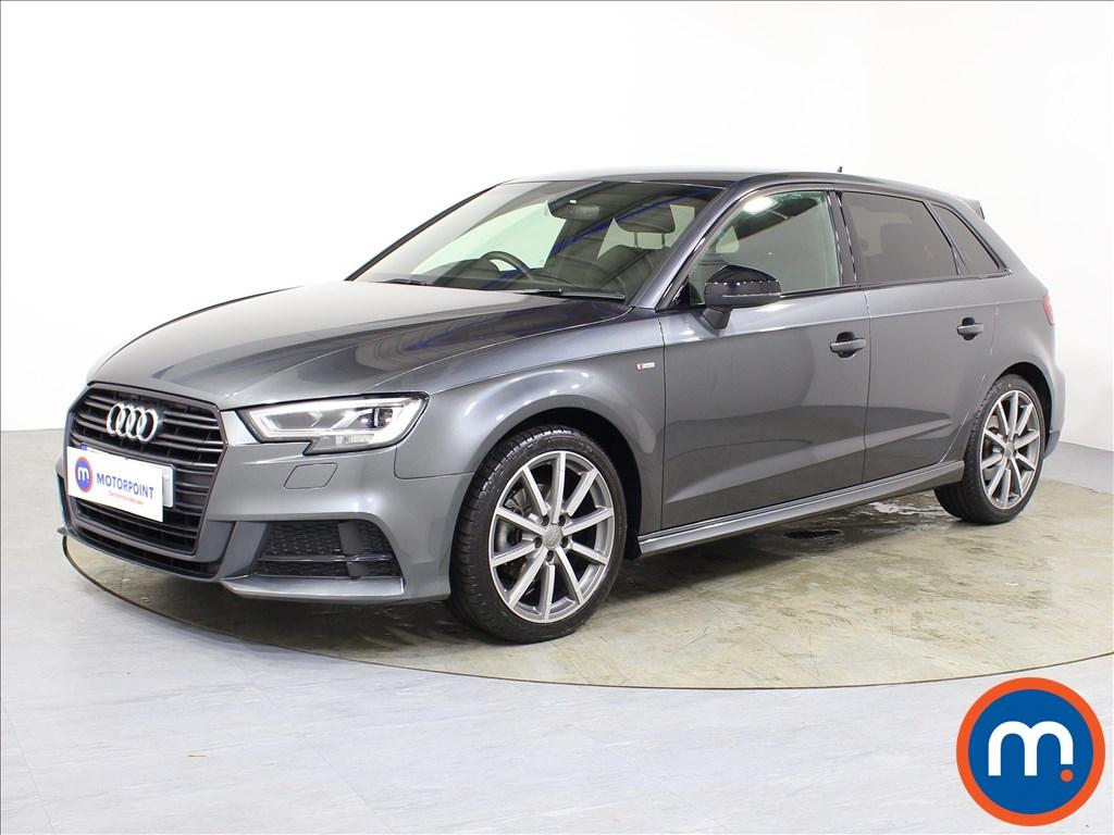 Audi A3 Black Edition - Stock Number 1084423 Passenger side front corner