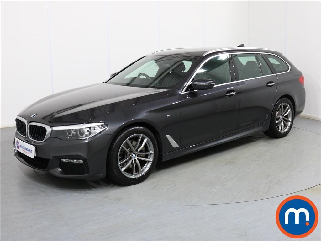 BMW 5 Series M Sport - Stock Number 1083214 Passenger side front corner
