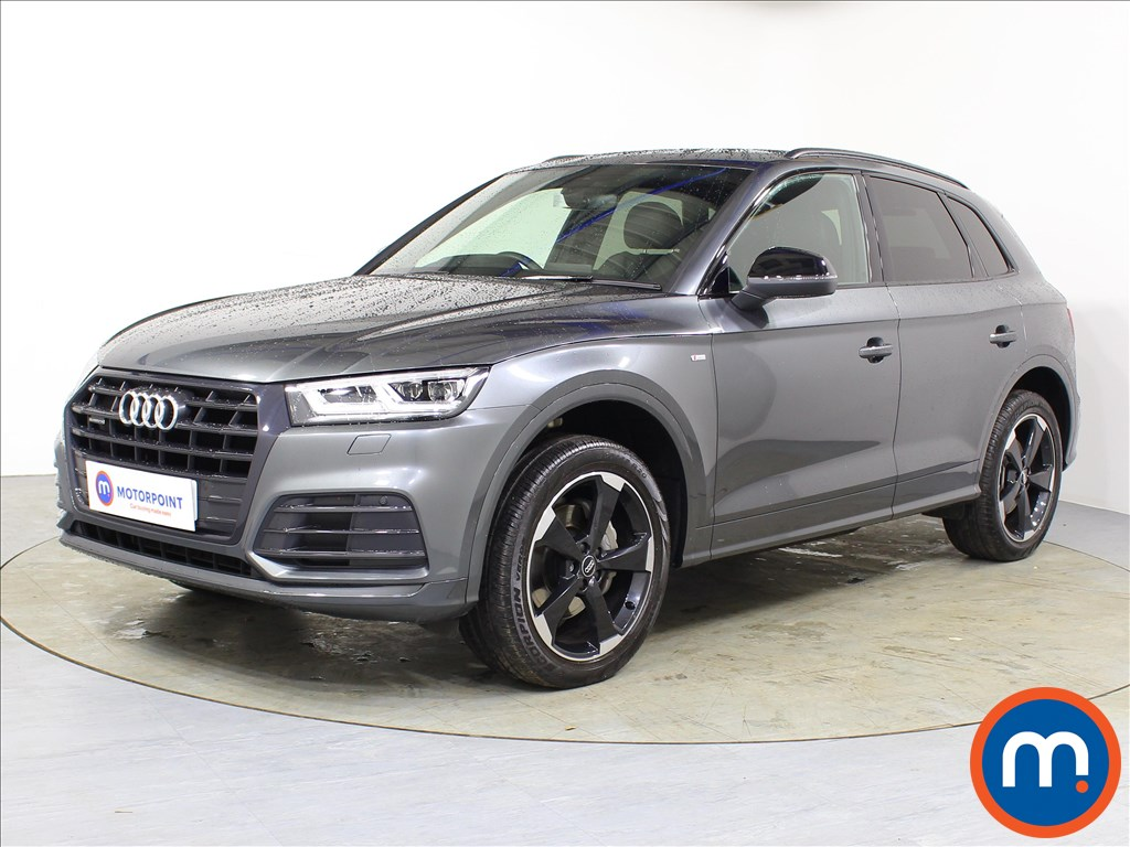 Audi Q5 Black Edition - Stock Number 1083910 Passenger side front corner