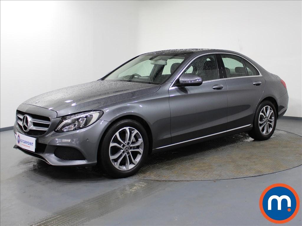 Mercedes-Benz C Class Sport - Stock Number 1084217 Passenger side front corner