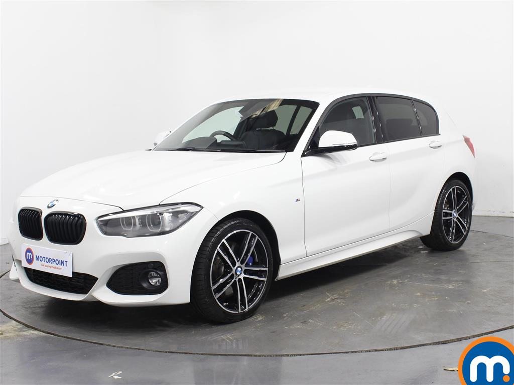 BMW 1 Series M Sport Shadow Edition - Stock Number 1081465 Passenger side front corner