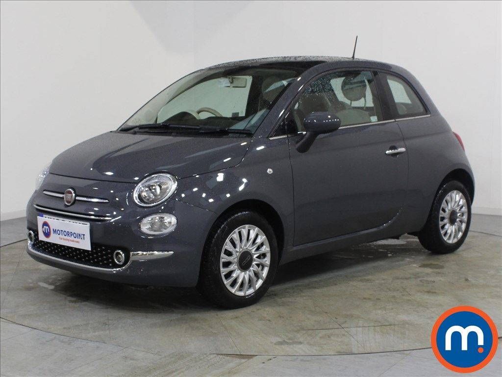 Fiat 500 Lounge - Stock Number 1077801 Passenger side front corner