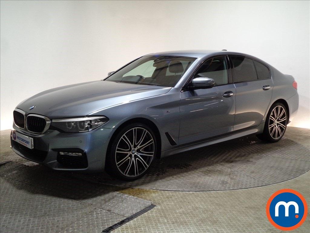 BMW 5 Series M Sport - Stock Number 1082314 Passenger side front corner