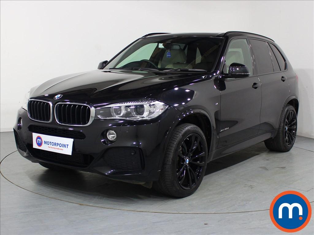 BMW X5 M Sport - Stock Number 1083602 Passenger side front corner