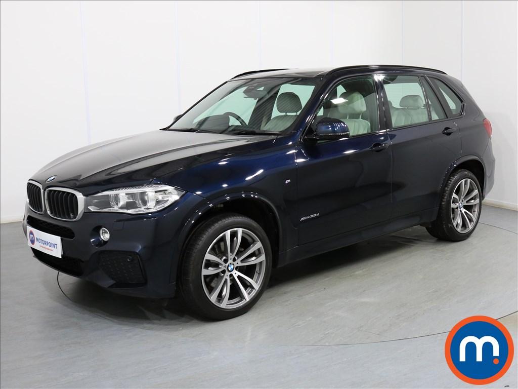 BMW X5 M Sport - Stock Number 1082235 Passenger side front corner