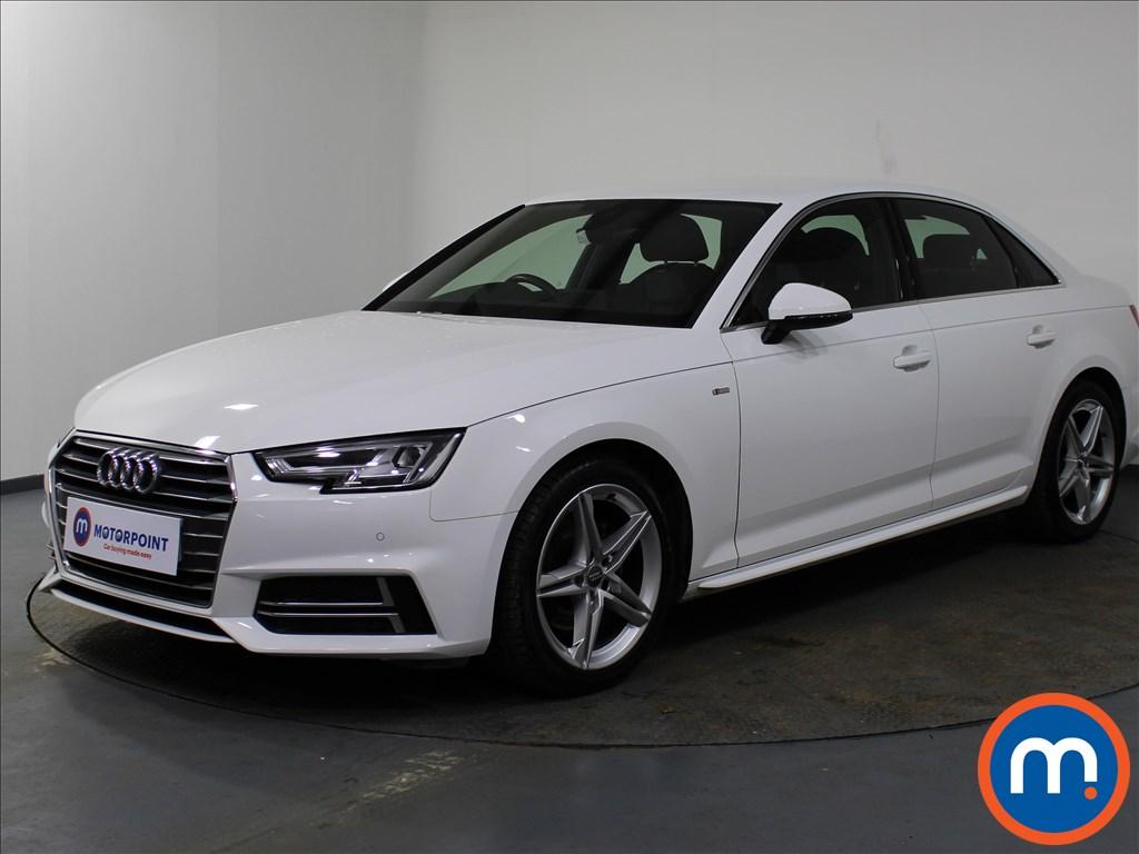 Audi A4 S Line - Stock Number 1082798 Passenger side front corner