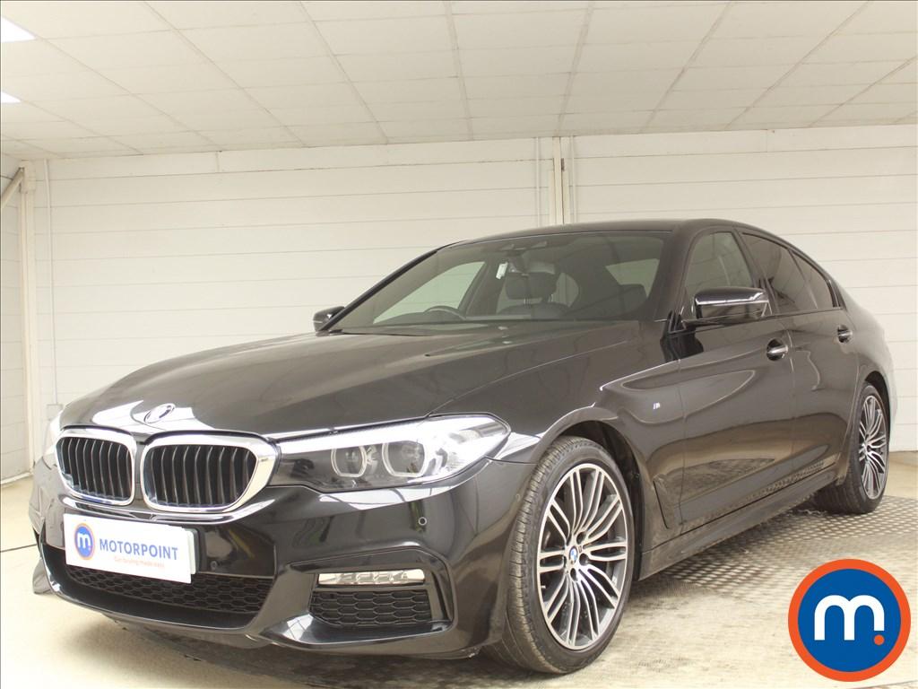 BMW 5 Series M Sport - Stock Number 1083876 Passenger side front corner