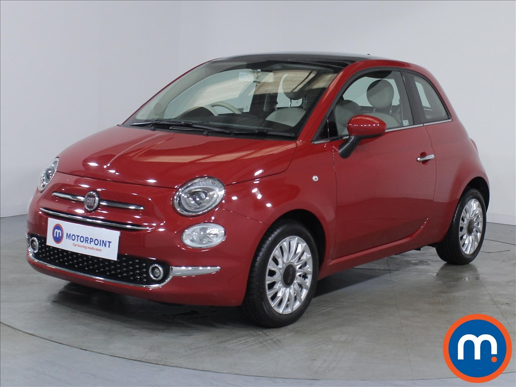 Fiat 500 Lounge - Stock Number 1083015 Passenger side front corner