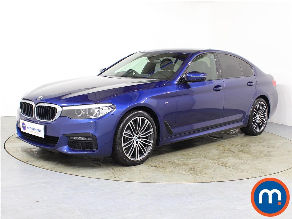 BMW 5 Series M Sport - Stock Number 1086335 Passenger side front corner