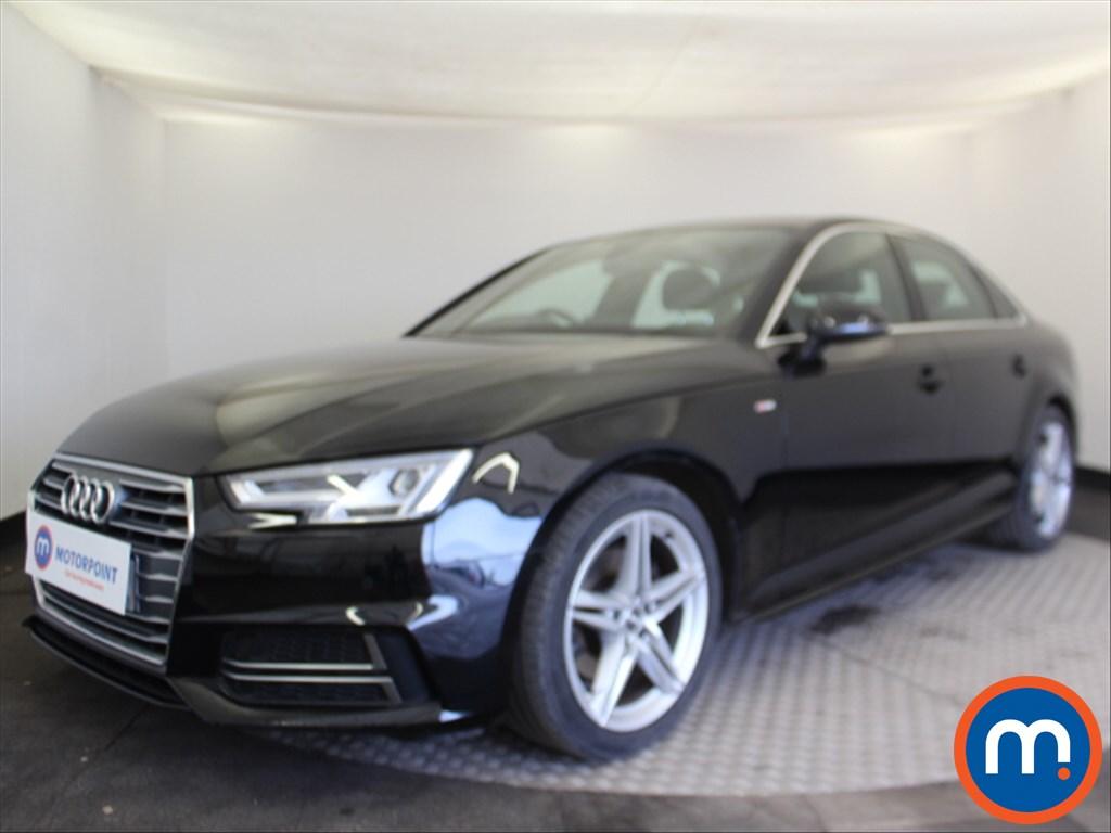 Audi A4 S Line - Stock Number 1080685 Passenger side front corner