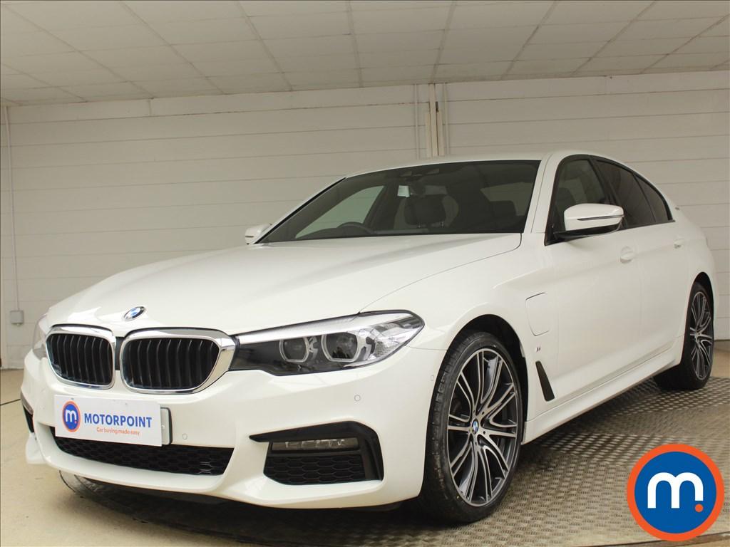 BMW 5 Series M Sport - Stock Number 1084435 Passenger side front corner