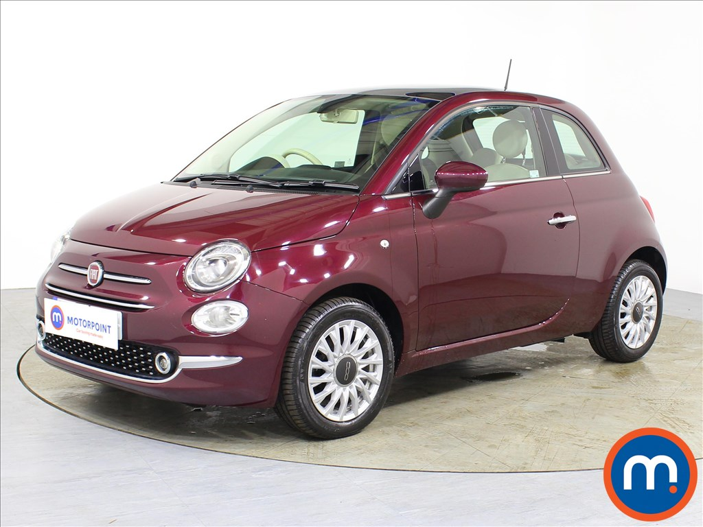 Fiat 500 Lounge - Stock Number 1087015 Passenger side front corner