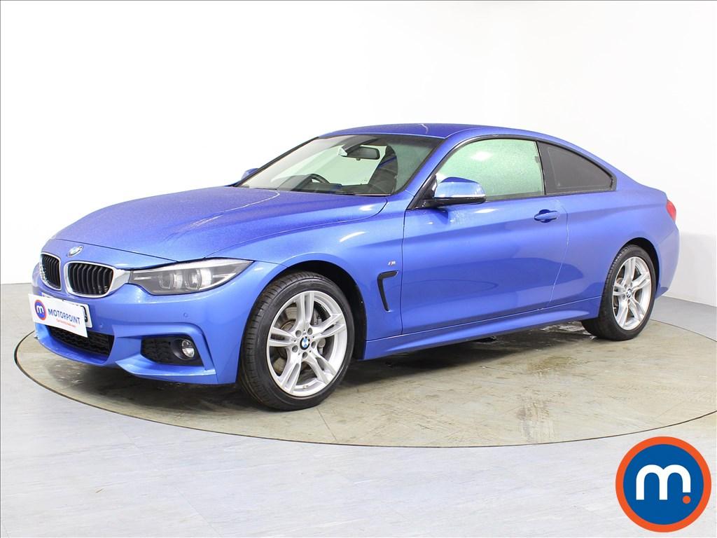 BMW 4 Series M Sport - Stock Number 1083033 Passenger side front corner