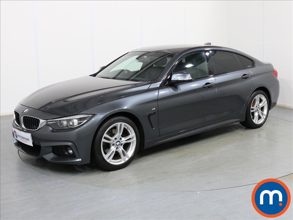 BMW 4 Series M Sport - Stock Number 1087603 Passenger side front corner