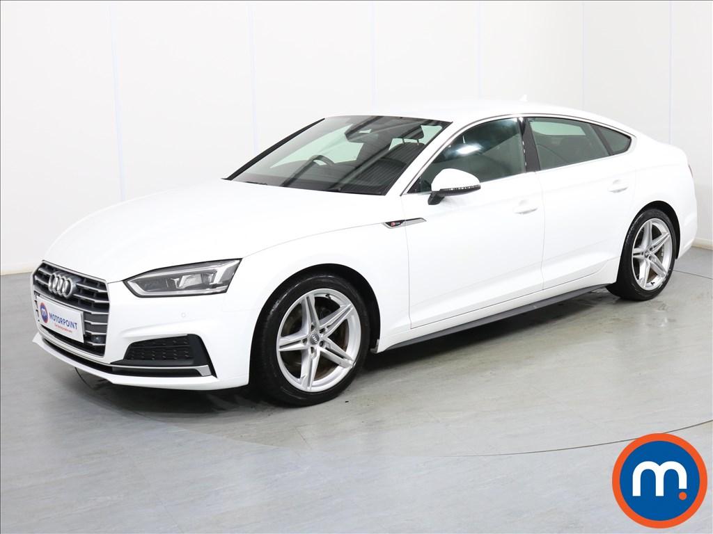 Audi A5 S Line - Stock Number 1085884 Passenger side front corner