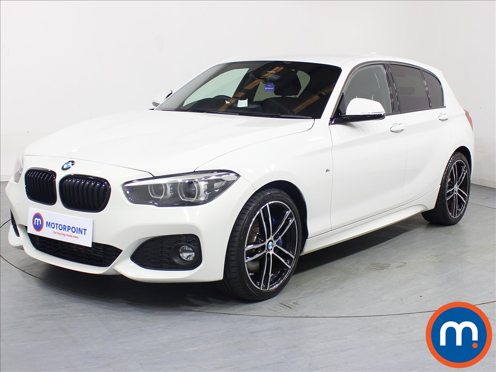BMW 1 Series M Sport Shadow Edition - Stock Number 1081481 Passenger side front corner