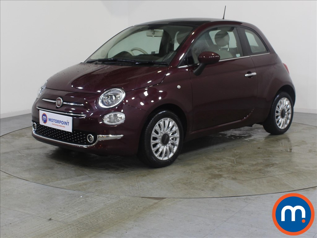 Fiat 500 Lounge - Stock Number 1082905 Passenger side front corner