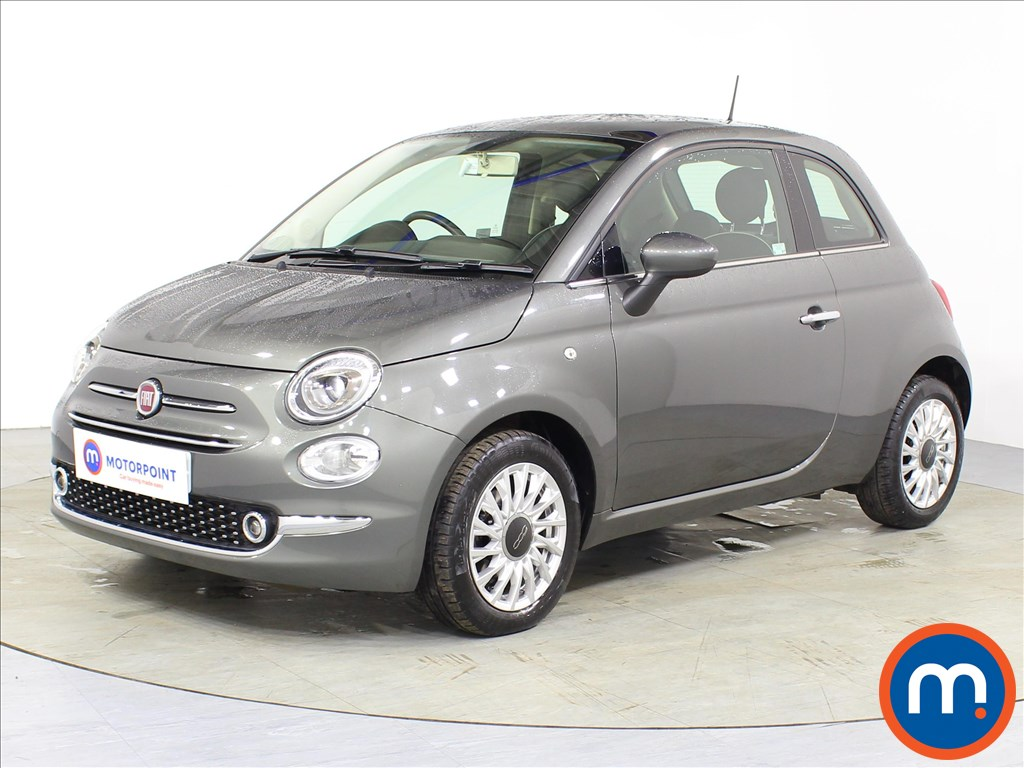 Fiat 500 Lounge - Stock Number 1086544 Passenger side front corner