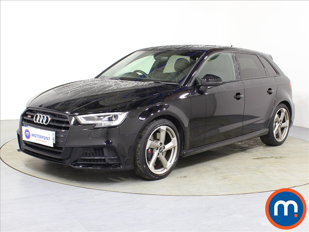 Audi A3 S3 Black Edition - Stock Number 1087141 Passenger side front corner