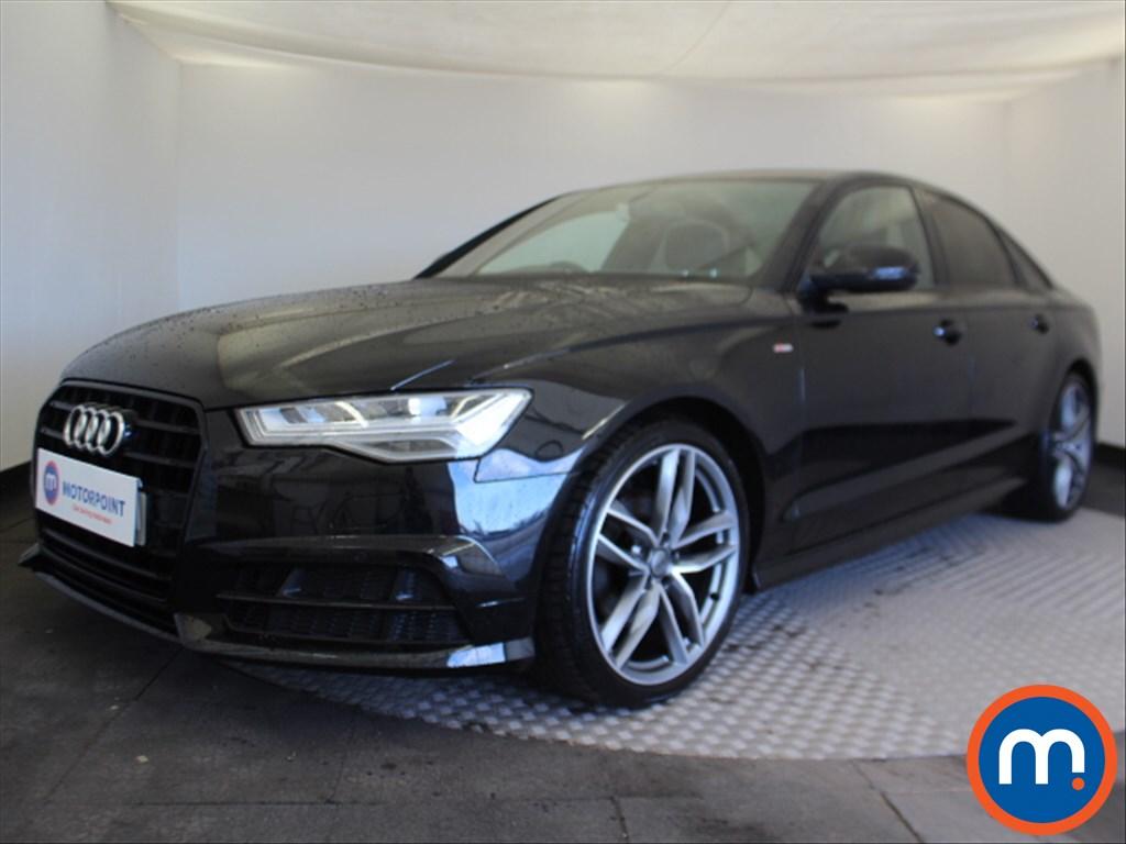 Audi A6 Black Edition - Stock Number 1085871 Passenger side front corner