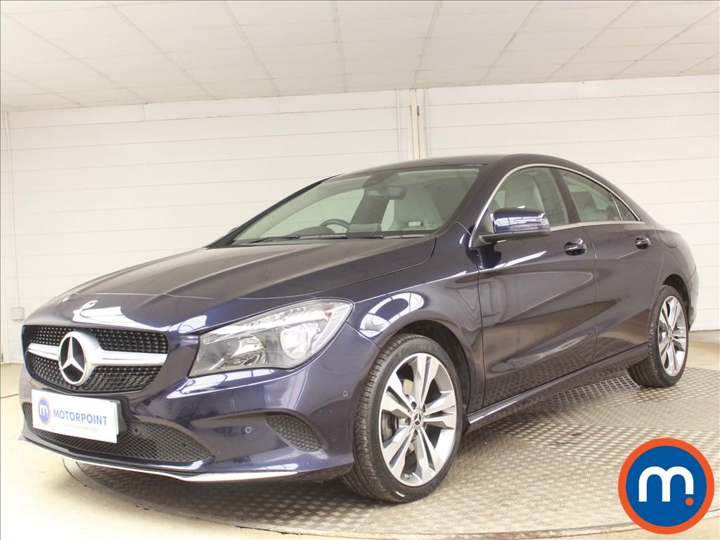 Mercedes-Benz CLA Sport - Stock Number 1086528 Passenger side front corner