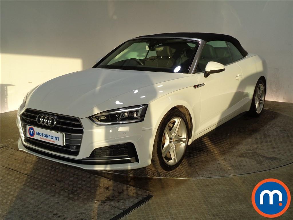 Audi A5 S Line - Stock Number 1085881 Passenger side front corner