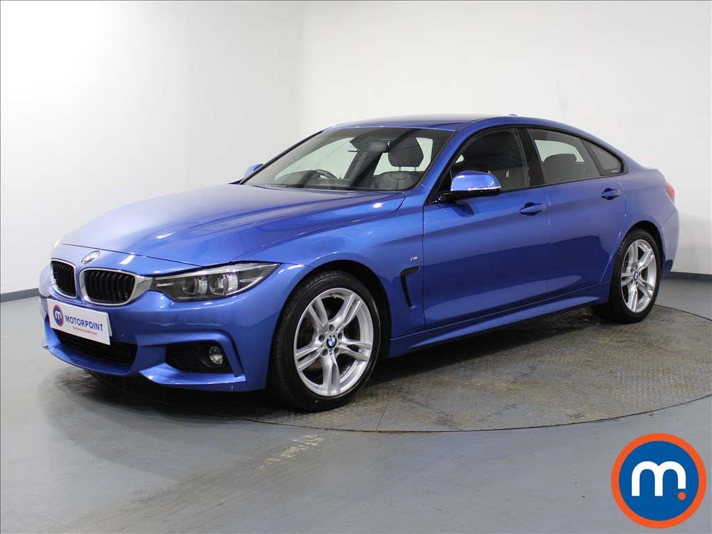 BMW 4 Series M Sport - Stock Number 1085597 Passenger side front corner
