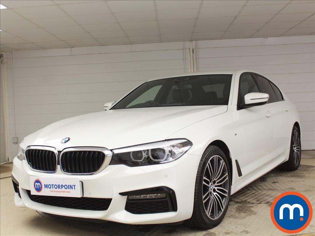 BMW 5 Series M Sport - Stock Number 1086048 Passenger side front corner