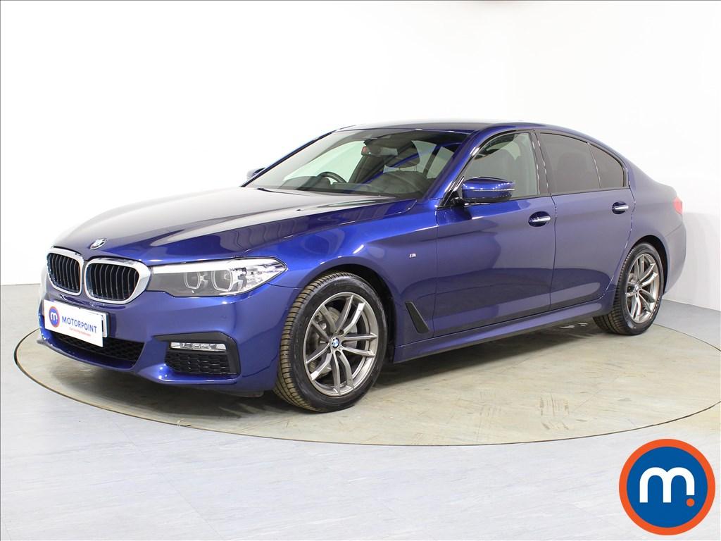 BMW 5 Series M Sport - Stock Number 1085966 Passenger side front corner