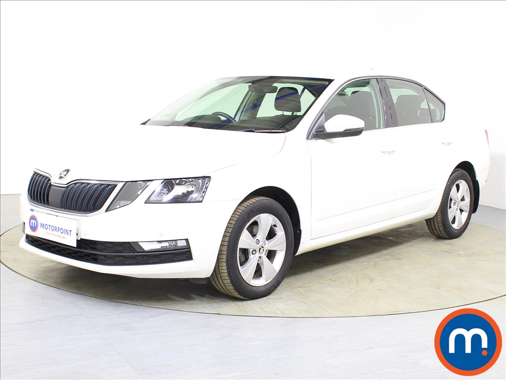 Skoda Octavia SE Technology - Stock Number 1087124 Passenger side front corner