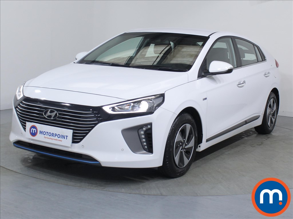 Hyundai Ioniq Premium SE - Stock Number 1080259 Passenger side front corner