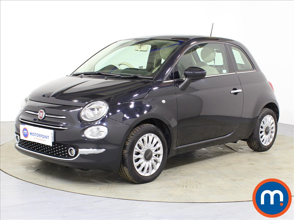 Fiat 500 Lounge - Stock Number 1086538 Passenger side front corner