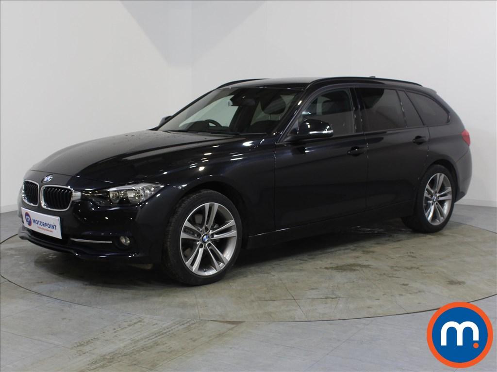BMW 3 Series Sport - Stock Number 1082280 Passenger side front corner