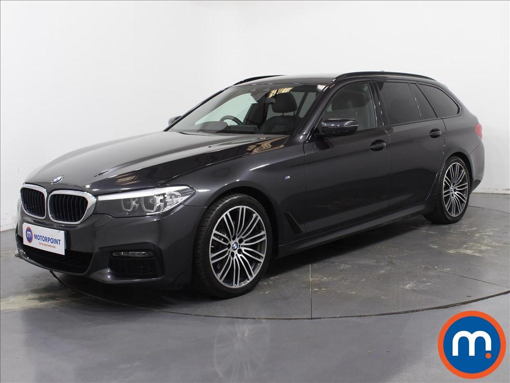 BMW 5 Series M Sport - Stock Number 1087671 Passenger side front corner