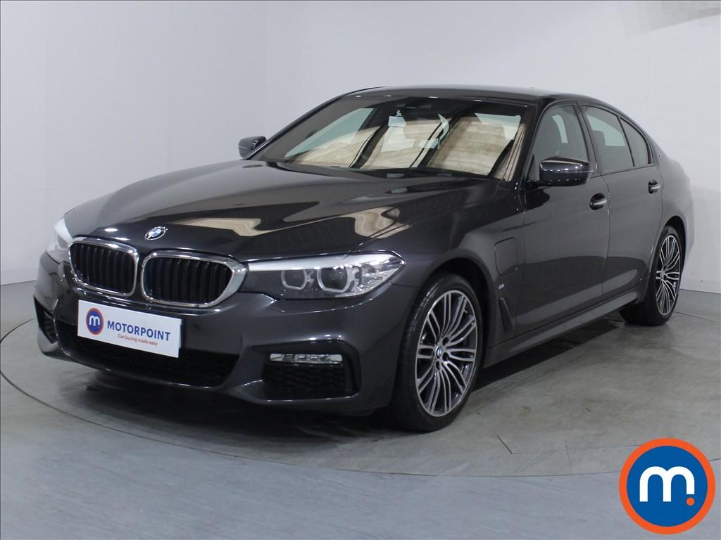 BMW 5 Series M Sport - Stock Number 1083327 Passenger side front corner