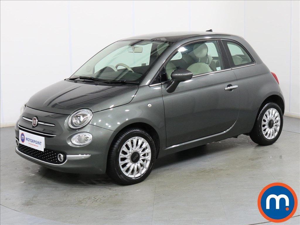 Fiat 500 Lounge - Stock Number 1085505 Passenger side front corner