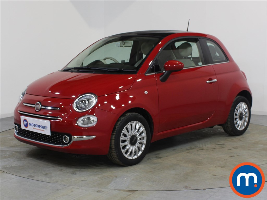 Fiat 500 Lounge - Stock Number 1085491 Passenger side front corner