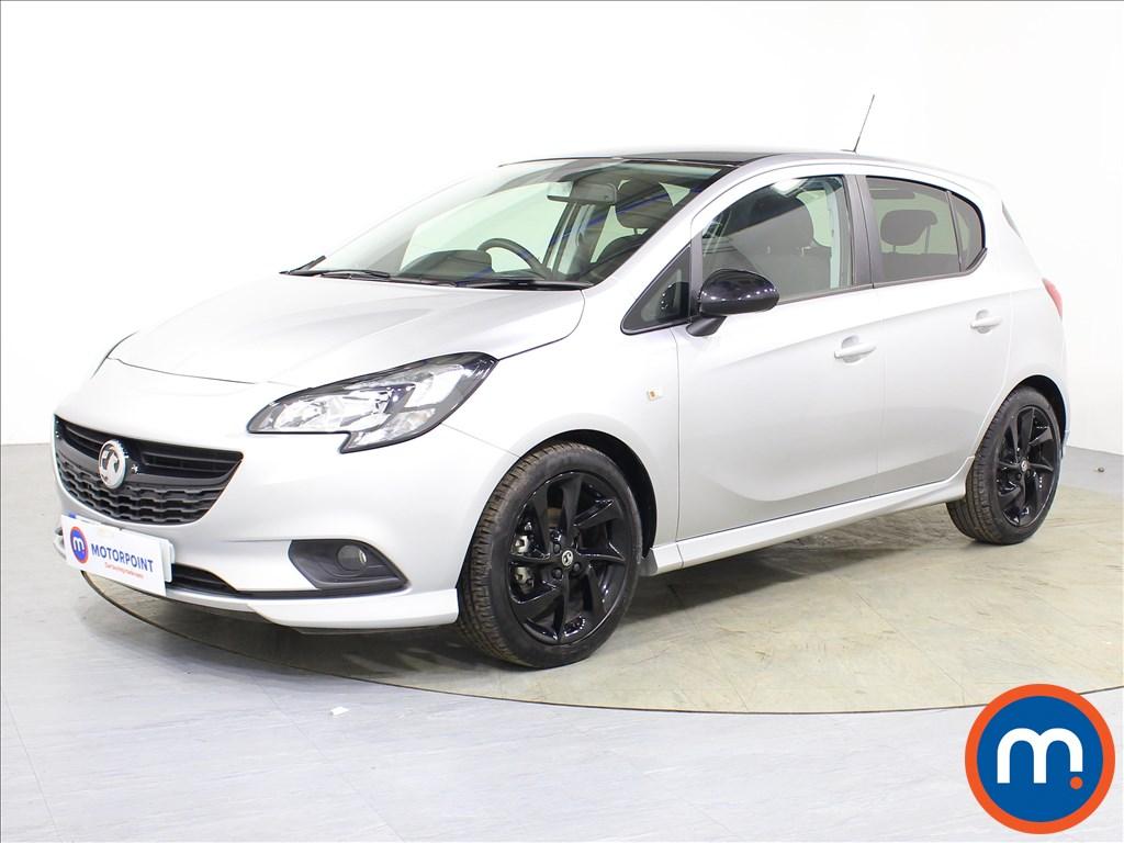 Vauxhall Corsa SRi Vx-line Nav Black - Stock Number 1085275 Passenger side front corner