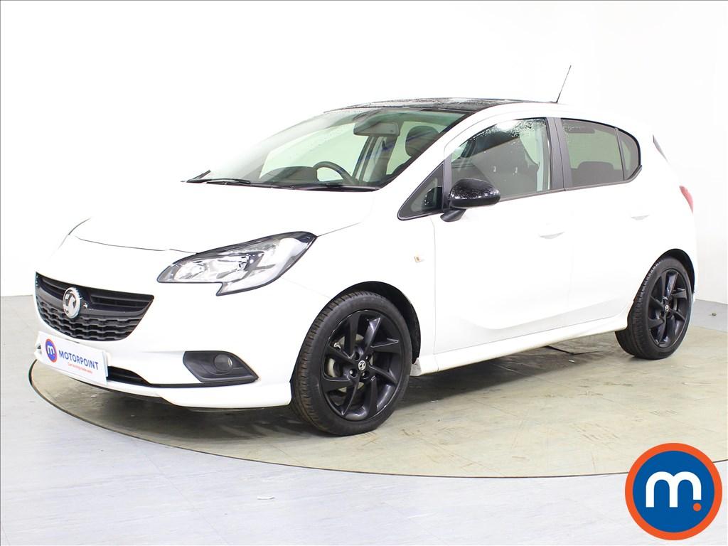 Vauxhall Corsa SRi Vx-line Nav Black - Stock Number 1085258 Passenger side front corner