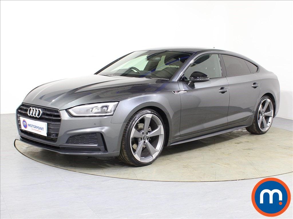 Audi A5 Black Edition - Stock Number 1087151 Passenger side front corner