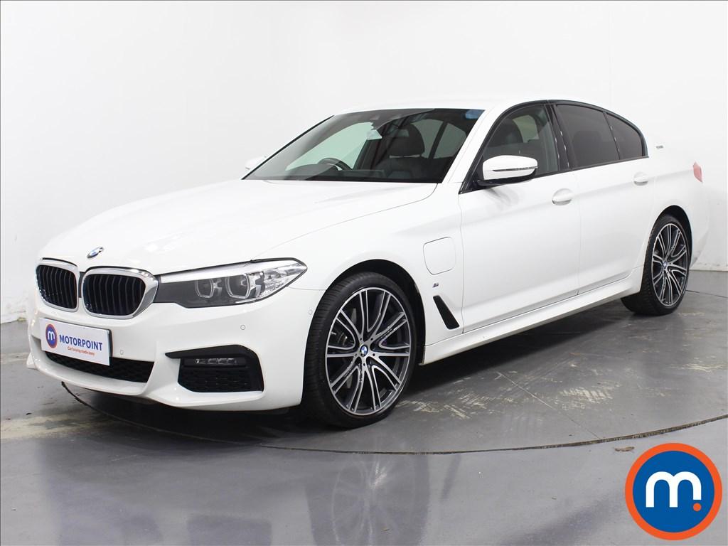 BMW 5 Series M Sport - Stock Number 1084439 Passenger side front corner
