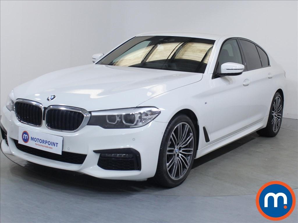 BMW 5 Series M Sport - Stock Number 1083690 Passenger side front corner