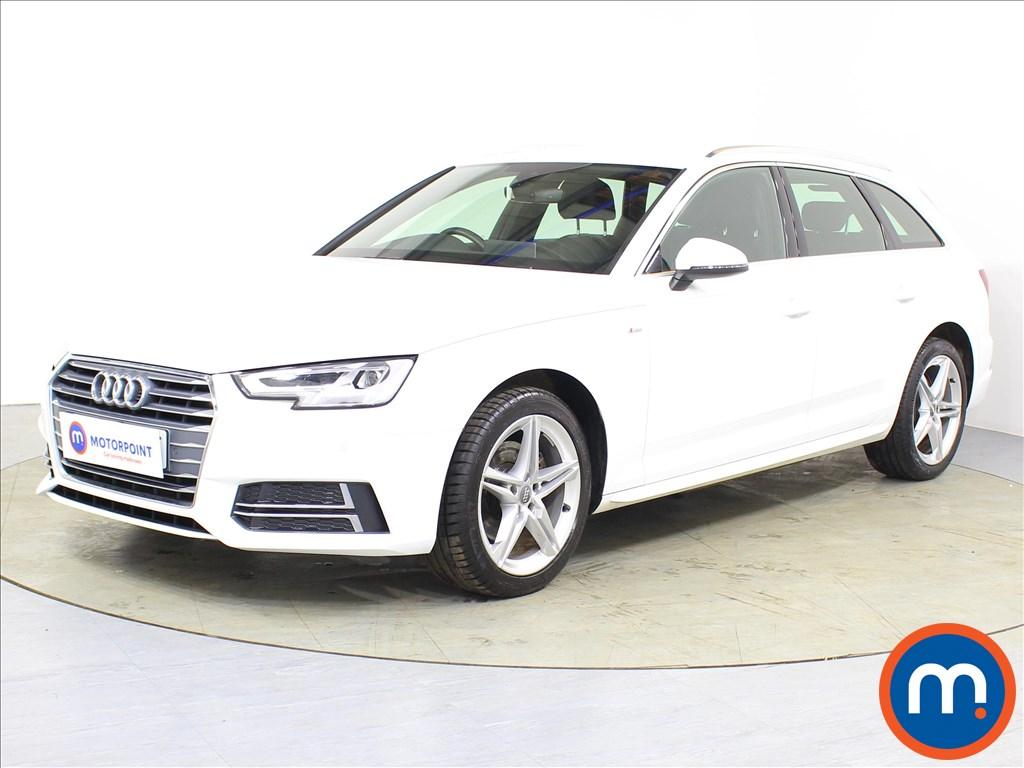 Audi A4 S Line - Stock Number 1080677 Passenger side front corner
