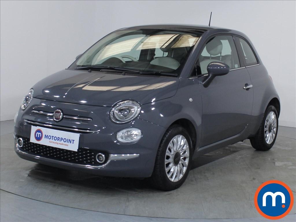 Fiat 500 Lounge - Stock Number 1085508 Passenger side front corner