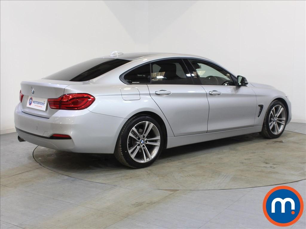 BMW 4 Series Sport - Stock Number 1085740 Passenger side front corner